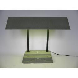 Art Deco bureaulamp SEVADAC met tl-lamp