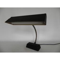 Art Deco bureaulamp met buigstang en TL