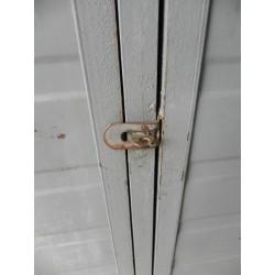 Stalen industriële 3 deurs locker