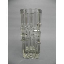 Glazen vintage vaas door Vladislav Urban voor SKLO-union Rosice glass