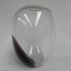 Glass vintage vase height...