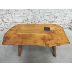 Eiken Sidetable Woood.Eiken Vintage Bijzettafel Salontafel Oak Vintage Side Table Coffee Table