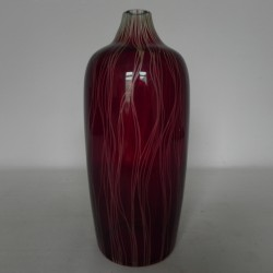 Glass vintage vase with...
