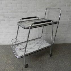 Vintage serveerwagen,...