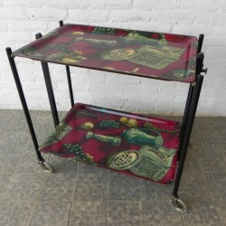 Foldable vintage trolley...
