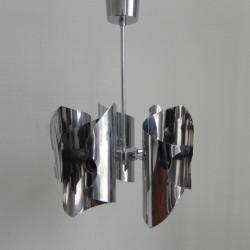 Vintage hanglamp met 5...