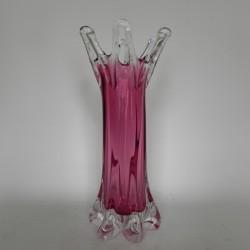 Glass vintage vase Fine...