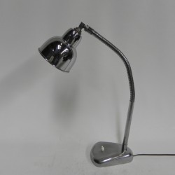 Chromed vintage desk lamp...