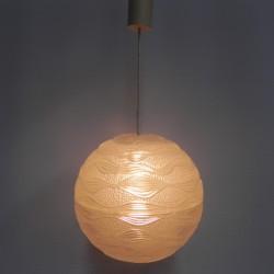 Vintage hanglamp met ronde...