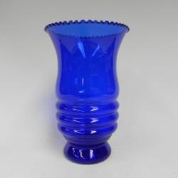 Blue Art Deco vase style Doyen