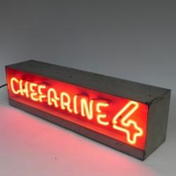 Neon advertising Chefarine 4