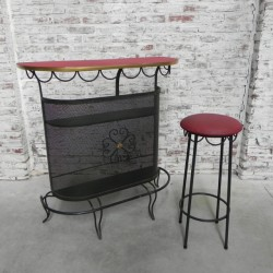 Vintage home bar, bar with...