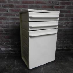 Vintage plastic cupboard...