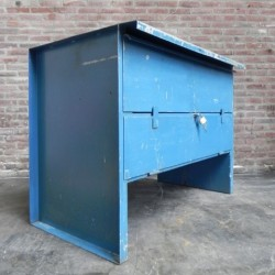 Industrial steel workbench...