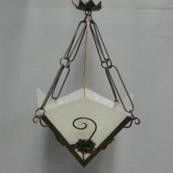 Art Deco hanglamp met 4...