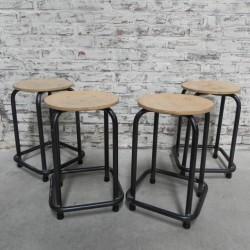 Industrial steel stool, 50...