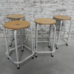 Industrial steel stool, 55...