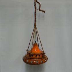 Ceramic orange vintage...