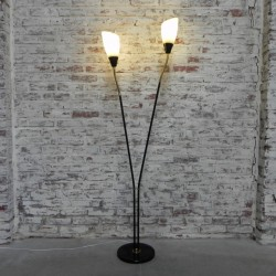 Standing vintage lamp with...