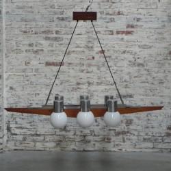 Grote vintage hanglamp met...