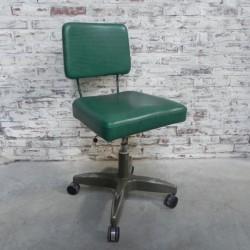 Vintage bureaustoel,...