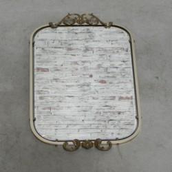 Vintage geslepen spiegel in...