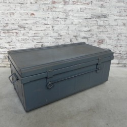 Steel chest from the French...