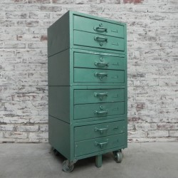Industrial chest of drawers...