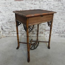 Bamboo table early 20th...