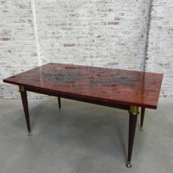 Vintage eettafel 95 x 165 cm