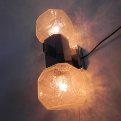 Vintage wall lamp with 2...
