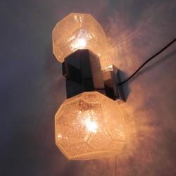 Vintage wandlamp met 2...