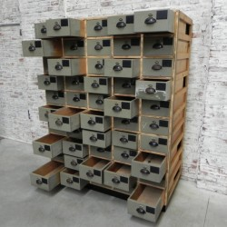 Large industrial chest of...