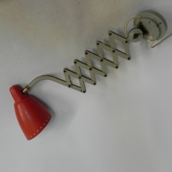 Vintage scharnierlamp,...