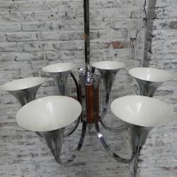 Grote Art Deco hanglamp met...
