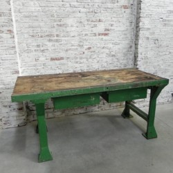 Industrial beech workbench...