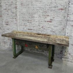 Industrial workbench with...