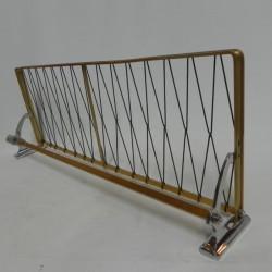 Vintage aluminium wandkapstok