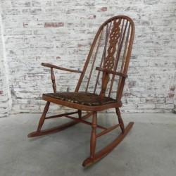 Vintage schommelstoel,...