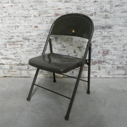 Industrial folding chair...