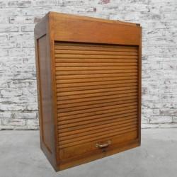 Oak roller shutter box with...