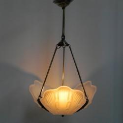 Art Deco hanglamp met 3...