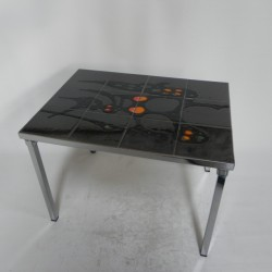 Vintage Belarti tile table...
