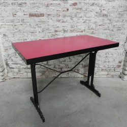 French bistro table with...