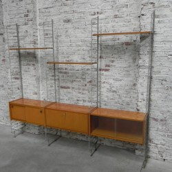 Modular wall unit in the...