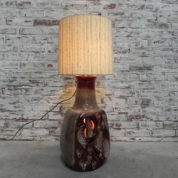 Standing vintage lamp on...