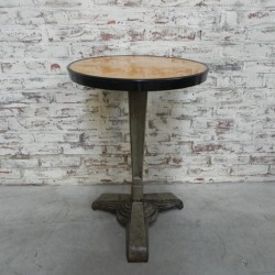 Art Deco bistro table with...
