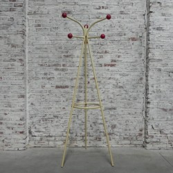 Standing coat rack with 6...