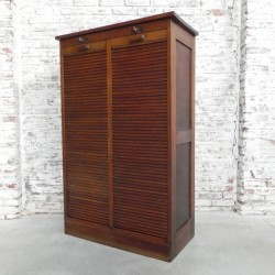 Roller shutter cabinet with...