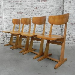 Set of 4 Casala chairs